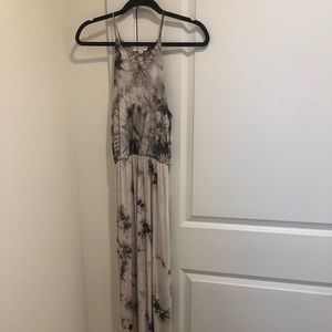 Rolla Coster tie die maxi dress